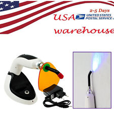 FDA Wireless Cordless LED Dental Curing Light Lamp 10W 2000MW Teeth Whitening #8