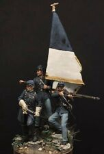 1:32 Union Soldiers Resin Model Kit Unassambled Unpainted