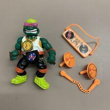 Vintage 1991 Teenage Mutant Ninja Turtles Rappin Mike Complete Michaelangelo