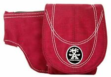 Crumpler BB Organiser Belt Pouch Bordeaux Red Small BBS-004 UK Stock