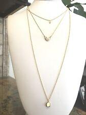 BaubleBar 'Flash' Layered Necklace Gold Tone
