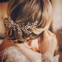 Elegant Wedding Bridal Pearl Hair Comb Headdress Women Hair Accessories Gift