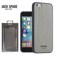 Jack Spade New York Wood Shockproof Case Cover for iPhone 6s & 6 Plus - Silver
