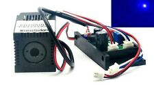 445nm 450nm Pure Blue Laser 100mw 12V Dot Module w/ TTL & Fan Cooling