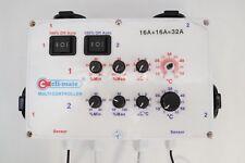 CLI-MATE Multi Fan Controller -Temperature Hydroponics 32 Amp EU inlets/plugs