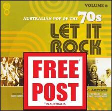 70's (2 CD) LET IT ROCK - AUSTRALIAN POP OF THE 70's - Volume 6 *NEW*
