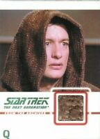 Star Trek TNG Heroes & Villains Costume Relic Card Q C13 081/275