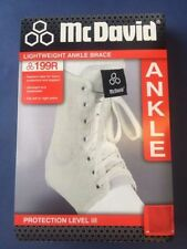 McDavid White Ankle Braces & Supports