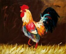 Rooster,  Item No.- 5 , 20x24, 100% Hand painted Oil Painting on Canvas