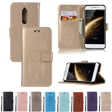 Patterned Magnetic Leather Wallet Stand Card Case Cover For Nokia 2 3 5 6 8 9