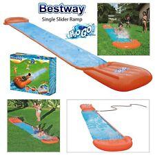 Bestway Kids H20GO! Single Slider With Ramp Inflatable Slip & Slide Garden Fun