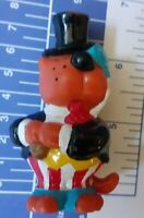 1 FIGURES VINTAGE MODEL TOY ANNI 80 GATTO CARTOON CAT POLISTIL 1983-ISIDORO LORD