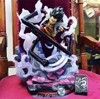 JZ Monkey D Luffy Snakeman Statue Resin Figure GK One Piece Collections 16''H