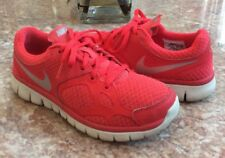 Nike Flex 2012 Women's Red Silver Athletic Running Shoes Size 7 #512108-601 EUC