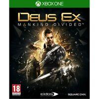Deus Ex Mankind Divided Xbox One Game