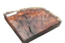 """RED COOLIBAH BURL #1212 -7"""" X 6 1/2"""" X 1 (Ideal for Stabilizing, Resin Casting)"""