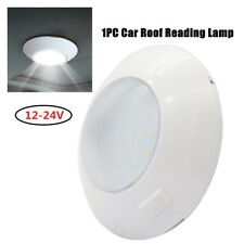1PC Car Switch Control Round LED Light Roof Reading Ceiling Lamp Boat Lighting