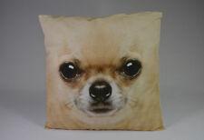 Dekokissen Chihuahua Sofakissen Zierkissen 50x50 cm Baumwolle