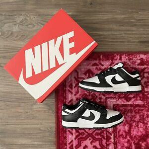 Women's Nike Dunk Low Black/White - DD1503-101 - Size 7M / 8.5W