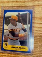 1986 Fleer Update Barry Bonds Pittsburgh Pirates #14 MINT FROM SET