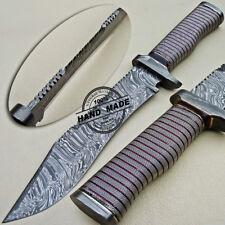 Cuchillo Machete Damasco Hecho a Mano Personalizada Damasco Cuchillo De Acero 1612