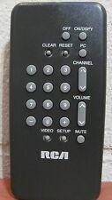 RCA CRK52A Genuine TV Remote (S2AI) RWZ 187986 - E13170, E13250, F20507, F19220