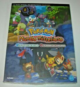 Guía oficial Pokémon Mundo Misterioso edición española precintada