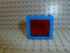 Lego ® Space Classic 1x ventana azul Transp. rojo 1x4x3 4033 6986 6886 6955 k35