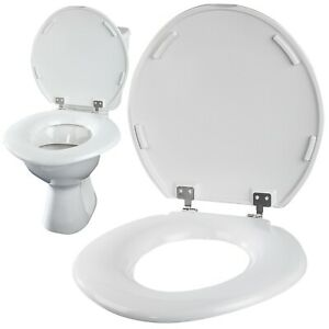 Bariatric XXL Extra Large Oversize Wide Seat for Standard Toilet Lid Duroplast