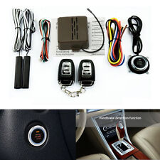 Mulitifuntion Smart E Models Remote Control Car Alarm Start System Push Button