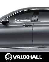 2 X Vauxhall  Vinyl Decal Car/Van/Truck/Bumper/Window Vinyl Sticker Jdm Dub