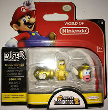 World of Nintendo Micro Land / Gold Series Figuren / Super Mario bros