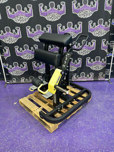 Technogym Pure Plate Loaded Standing Leg Curl - BUYER PAYS SHIPPING