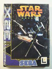 !!! Sega Mega Drive 32x juego Star Wars Arcade OVP, usados pero bien!!!