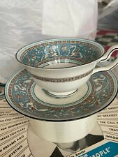 old wedgewood tea cup and saucer