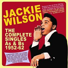 JACKIE WILSON - THE COMPLETE SINGLES COLLECTION AS & BS 1952-62  2 CD NEUF