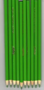 100 New Crayola YELLOW GREEN Colored Pencils FREE SHIPPING!
