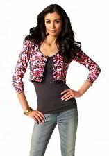 Geblümte Damen-Pullover & -Strickware aus Baumwolle mit feiner Strickart