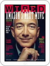 WIRED Magazine UK September 2017 Jeff Bezos and Amazon NEW