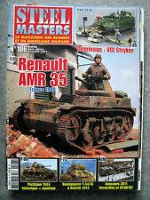 Revue Steel Masters N°106 RENAULT AMR 35 france 1940