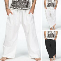 NEW Beige Baggy//Skater//Goth//Flared//Wide Leg Retro Combats//Jeans//Trousers W36 L33