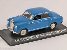 MERCEDES BENZ W180 PONTON in Blue 1/43 scale model by Altaya