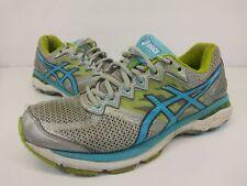 ASICS GT-2000 Cross Training Running Shoes Silver / Blue Women's Size 9 2E EE