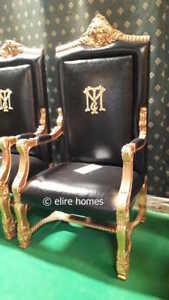NEW VERSION  Tony Montana Al Pacino scarface designer film movie prop seat chair