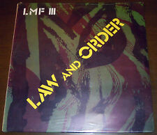 LP LARRY MARTIN FACTORY Law and order (AA Disc 81 ITALY) punk unique cvr SEALED!