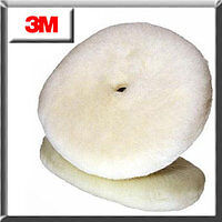 """3M 33279 9"""" PERFECT-IT LOW LINT WOOL COMPOUND PAD"""