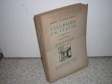 1930.Excursion en italie.Frédéric Mistral.envoi de Charles Maurras.ex.HC arches