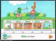 Nederland 3012-Ab-5 Postzegelvel Max Velthuijs - Kikker en Haas