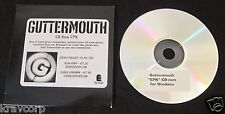 GUTTERMOUTH 'COVERED WITH ANTS' 2001 CD-ROM EPK