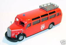 a PRALINE HO 1/87 BUS CAR MERCEDES BENZ O 350 POMPIERS